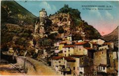 Roquesteron-Grasse - Le Village et les Ruines romaines - Roquestéron