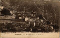 Toudon - Vue Générale - alt 1000 m - Toudon