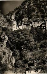 Touet-sur-Var - L'Eglise et la Cascade - Touët-sur-Var