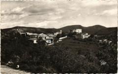 Gréoliéres - Vue générale, dans le fond a droite, Cipiéres - Gréolières