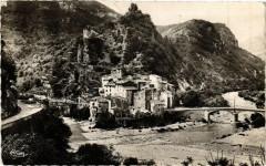 Roquesteron -Vue générale - Roquestéron
