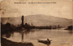 Brangues - Un coin sur le Rhone et les monts du Bugey - Brangues
