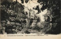 Fontaine-de-Vaucluse Bords de la Sorgue et les Falaises - Fontaine-de-Vaucluse