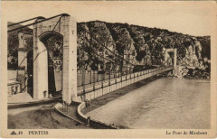 Pertuis Le Pont de Mirabeau - Pertuis