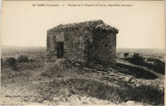Le Thor Ruines de la Chapelle Saint Pierre - Le Thor