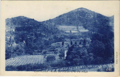 Gigondas Route des Florets et le Pic Fregu - Gigondas