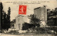 Route de Mazan a Villes - Mazan