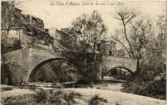 La Tour-d'Aigues - Pont du Xi siecle sur Leze - La Tour-d'Aigues