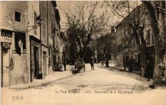 La Tour-d'Aigues - Boulevard de la Republique - La Tour-d'Aigues