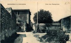 Cabrieres d'Avignon - Rue des Pasquiers - Cabrières-d'Avignon