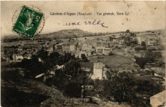 Cabrieres d'Aigues - Vue générale Nord-Est - Cabrières-d'Aigues
