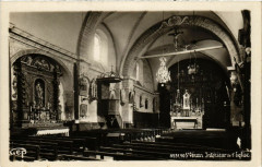 Saint-Veran - Intérieur de l'Eglise - Saint-Véran