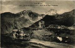 Les Alpes - Le Col de Vars (2115 m) - Route de St-Paul a Guillestre - Vars