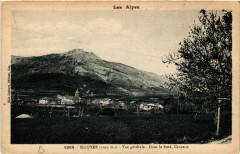 Sigoyer (1030 m) - Vue générale-Dans le Fond, Ceüsette - Sigoyer