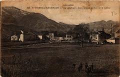 Saint-Pierre-d'Argencon - Vue générale - Dans le fond, le Col de... - Saint-Pierre-d'Argençon