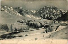 Névache l'hiver - Ville basse,Sailé et le Gujon (Brianconnais) - Névache