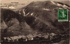 Les Alpes - Vallée du Queyras--Ceillac (1697 m) - Vue générale - Ceillac