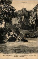 Serres - Le Buech et le Pont de pierre au Gouffre - Serres