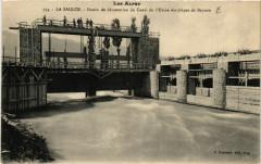 La Saulce Bassin de Decantation du Canal de l'Usine electrique de - La Saulce