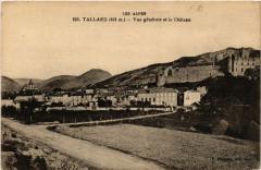 Tallard - Vue générale et le chateau - Tallard