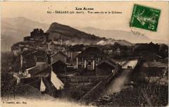 Tallard - Vue centrale et le Chateau - Tallard