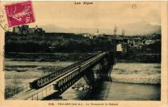 Tallard - La Durance et le Chateau - Tallard