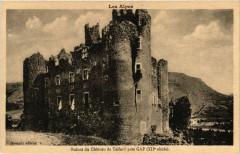 Ruines du Chateau de Tallard pres Gap - Tallard
