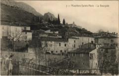 Moustiers-Sainte-Marie - La Bourgade - Moustiers-Sainte-Marie