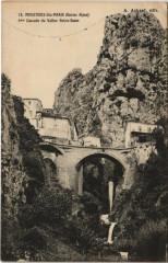 Moustiers-Sainte-Marie - Cascade du Vallon Notre-Dame - Moustiers-Sainte-Marie
