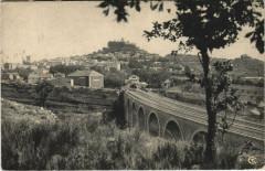 Forcalquier - Vue générale avec le Pont - Forcalquier