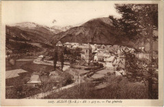 Allos - Vue générale - Allos