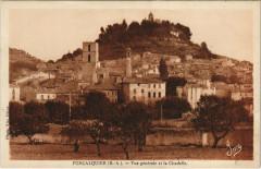Forcalquier - Vue générale et la Citadelle - Forcalquier