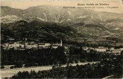 Haute Vallée Verdon Beauvezer vue generale - Beauvezer