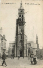 Landerneau - L'Eglise St-Honardon 29 Landerneau