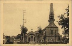 Loctudy - L'Eglise et la Place - Loctudy