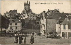 Quimperle Vue de la Place Nationale - Quimperlé