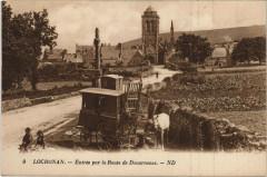 Locronan - Entrée par la Route de Douarnenez - Locronan
