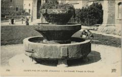 Saint-Pol-de-Leon - La Grande Vasque de Granit - Saint-Pol-de-Léon