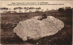 Rocher dit La Jument a Locronan - Locronan