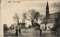 Spezet - Place de l'Eglise - Spézet