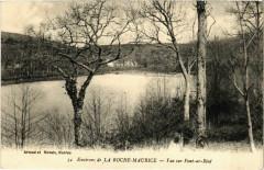 Vue sur Pont-ar-Bied - Environs de La Roche-Maurice - La Roche-Maurice