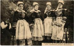Bannalec - Costumes Primes - Concours de Costumes a Pont-Aven - Bannalec
