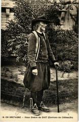 Vieux Breton de Cast - Environs de Chateaulin - Folklore - Cast