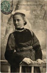 Jeune Fille de Saint-Thois - Etude des Coiffes de Bretagne - Saint-Thois