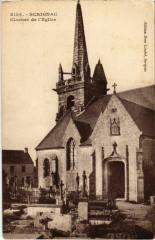 Scrignac - Clocher de l'Eglise - Scrignac