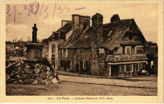 Le Faou - Curieuse Maison du XVIe Siecle - Le Faou