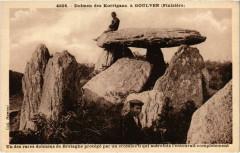 Dolmen des Korrigans a Goulven - Goulven