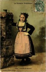 Fillette de Hanvec - Type - Folklore - Bretagne - Hanvec