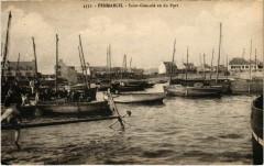 Penmarch - Saint-Guenole vu du Port - Penmarch