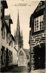 Pont-Croix - La Rue du Presbytere - Pont-Croix